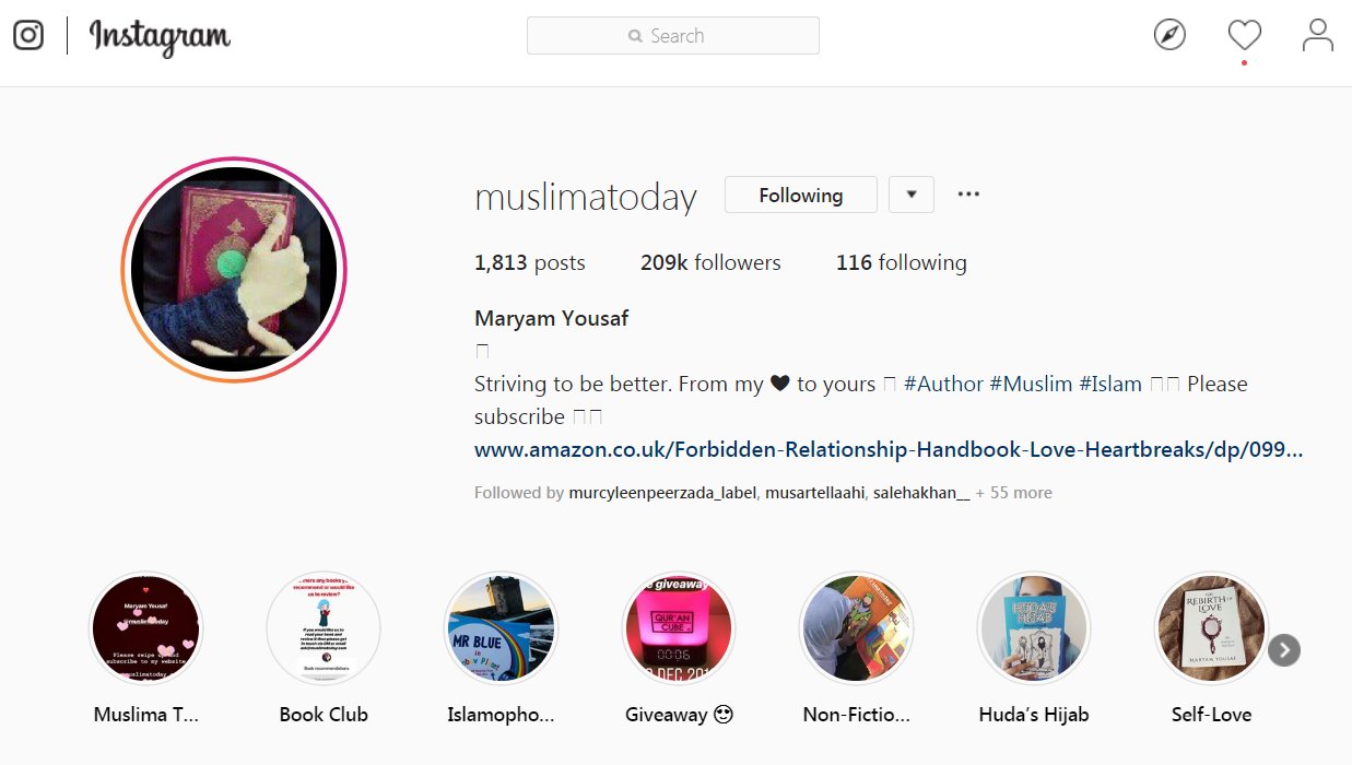 Muslima Today Author & Blogger